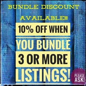 Other - 💥BUNDLE DISCOUNT AVAILABLE!💥